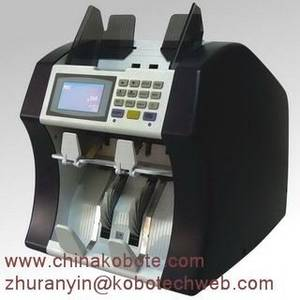 Wholesale currency: Kobotech LINCE-600 Two Pockets Non-Stop Multi-Currencies Value Counter (ECB 100%)