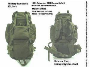 Wholesale rucksacks: MILITARY Rucksack 45L