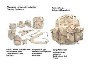 Wholesale military backpack: ALICE Web Set Camo
