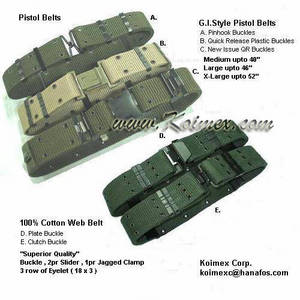 Wholesale pistol belt: Military Pistol Belt (A)