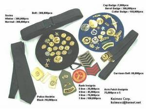 Wholesale Garment Accessories: MILITARY INSIGNIA
