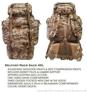 Wholesale military: Military Rucksack