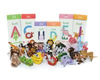 Educational Toy - Alphabet Puzzle To Create Animal Shapes