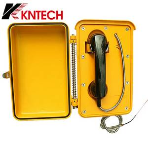 Wholesale Telephone Cords: KNTECH KNSP-03 Telecom Tech Devices Intercom System Waterproof Telephone Outdoor Phone, Wireless GSM