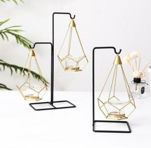 Wholesale candles holders: Geometry Metal Candle Holder