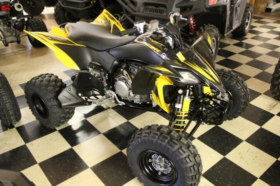 2012 yamaha yfz450r in white with custom graphic at tommy's.