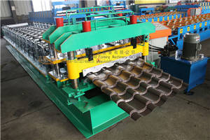 Wholesale glazed tile forming machines: Glazed Wall Tiles Roll Forming Machine