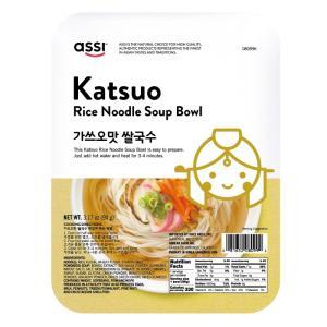 Wholesale glucose syrup: Katsuo Rice Noodle Soup Bowl-Instant Noodle