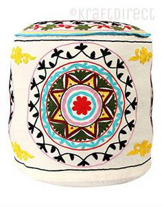 Wholesale furniture: Indian Ottoman Poufs