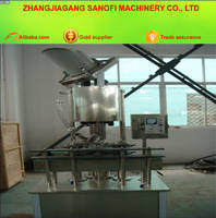 Automatic Ajustable Speed To Correspond Plastic Bottle Capping Machine for Screw Cap