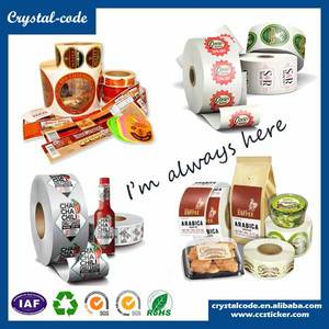 Wholesale plastic label: Cheap Custom Plastic Food Packaging Label