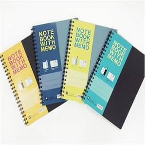 Wholesale notebook: (mookeuk Note)Notebook with Memo Slips