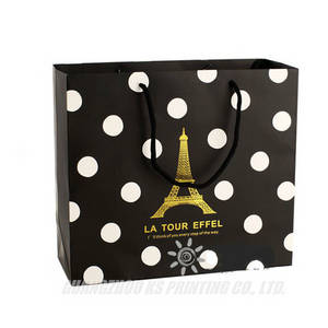 Wholesale paper shopping bag: Custom Gift Bags Paper Bags with Handles Shopping Bags Printing