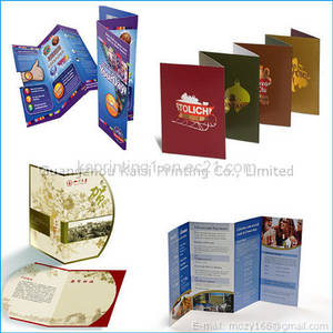 Wholesale brochure: Custom Brochures Printing, Flyers Printing Company, Leaftlets Printer in China