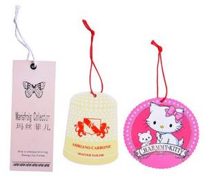 Wholesale garments tag: Custom Hang Tags, Garment Tags Printing, Clothing Tags Maker, Swing Tags Supplier