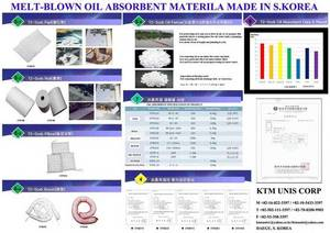 Wholesale absorbent pad: 300 Meltblown Oil Absorbent Pad Roll Boom Pillow Environment