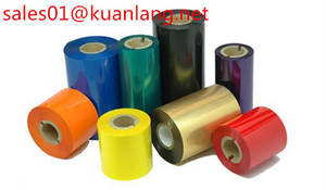 Wholesale synthetic wax: Color Wax Ribbon Thermal Transfer Ribbon Printer Ribbon
