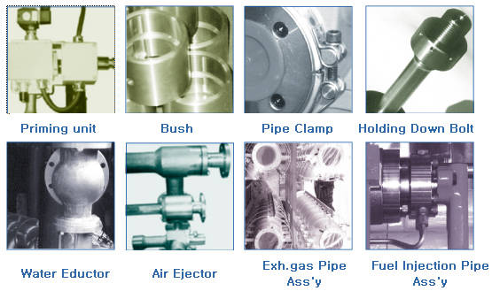 Sell Machinery parts(water&air ejector,engine part,pump)