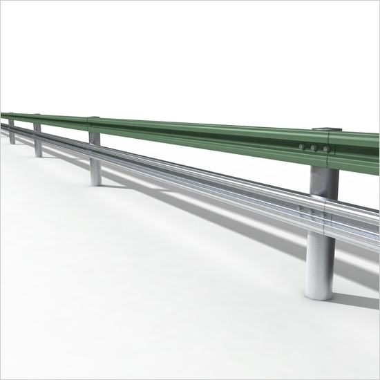 Steel Box-Beam Guardrail