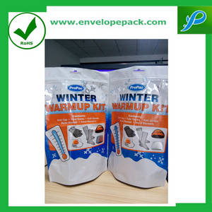 Wholesale plastic poly bubble envelopes: Stand-up Pouch for Packing Cheap Price Zip Lock Plastic Laminated Bag