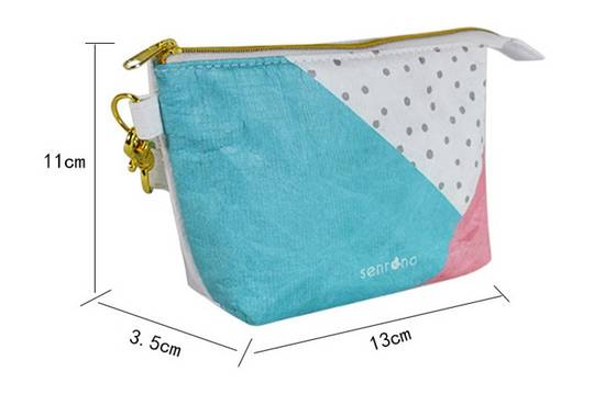 Sell Tyvek Part Clear Cosmetic Bags