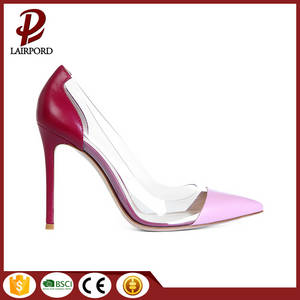 Wholesale sexis: sexy elegant red leather pvc stitching shoes