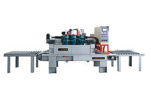 Wholesale paving slab: LMJ-Q3-63B Full-automatic Bush Hammering Machine for Small Tile