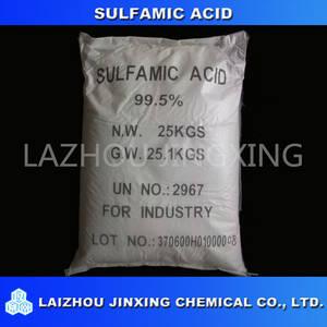Wholesale Inorganic Acid: Sulfamic Acid 99.5% Purity Industrial Grade Amidosulfonic Amidosulfuric Aminosulfonic Sulfamidic