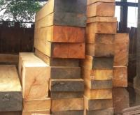 Squared Doussie Wood Logs 4