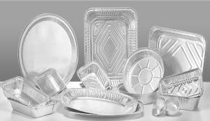 Wholesale aluminum foil container tray: Food Container