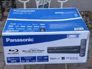 Wholesale DVD, VCD Player: NEW-Sealed-Panasonic-DMP-BD70V-Blu-Ray-DVD-VHS-Player-1080P-output-via-HDMI-port