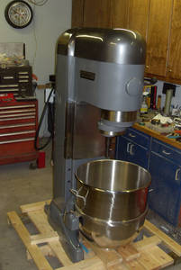 Wholesale dough mixers: Hobart 140qt Mixer with New Bowl, Dough Hook V1401 Fully Rebuilt 220 Volt 5 HP
