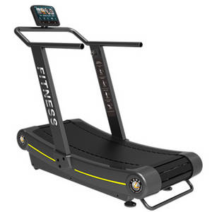Wholesale motorized treadmill: Gym Use Treadmill Non-motorized Treadmill No Power Curve Treadmill