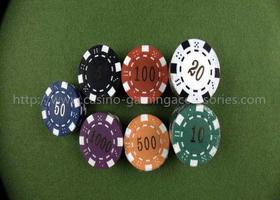 Promotional Gifts: Sell ABS Printable Dice Poker Chips