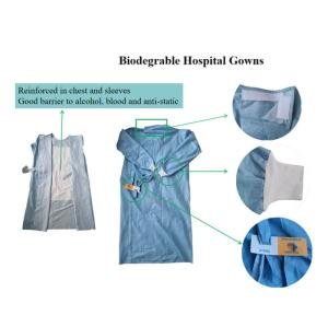 Wholesale Protective Gown: Biodegradable Disposable Hospital Gowns