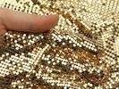 Wholesale Others Ingots: Spangle Fabric Cloth For Curtain,Sequin Metallic Cloth,Shimmer Screen Aluminum
