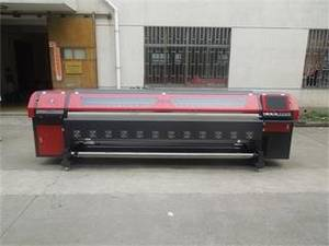Wholesale flex banner machine: Spectra Polaris 512 Solvent Printer&Outdoor Flex Banner Printing Machine