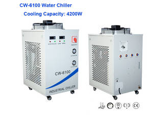 Wholesale single frequency fiber laser: R410a Coolant Chillers CW-6100 Cooling Water Chiller