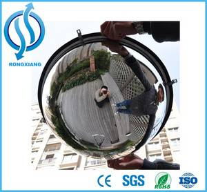 Wholesale edge searching cut: Hot Sale Acrylic Half Dome Mirror