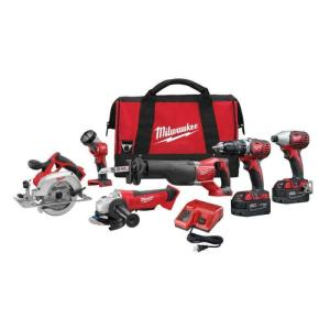 Wholesale cordless driver drill: POWER TOOLS Milwaukee 2695-15 M18 18V Cordless Lithium Ion Combo Tools Kits NEW ORIGINAL