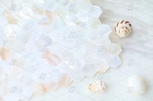 Wholesale white shell mosaic: Pearl White Freshwater Shell Seamless Mosaic Tile for Wall Decoration