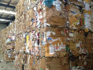 Wholesale Recycling: OCC Waste Paper - Paper Scraps 100% Cardboard NCC