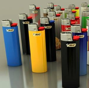 Wholesale Lighters: Original Bic Lighters J26/J25 - BIC Gas Lighters