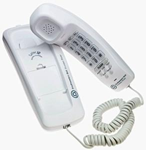 Wholesale buttons: Small Portable Hotel Office Button Landline Corded Telephone Set