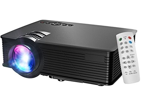 Cinema LED Projector with Remote Control
