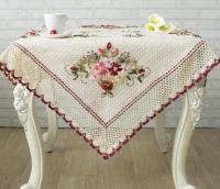 Wholesale Custom Simple Wedding Dining Table Cover and Decorative Cushion Cover for Car