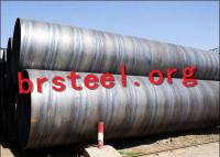 Borun SSAW Steel Pipes Carbon Alloy Inchs Different for Construction Gas Oil API ASTM Q235 2