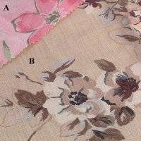 printed fabric: Sell printed linencotton fabric