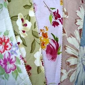 Wholesale printed linen fabric: Pure Linen Fabric with Printed