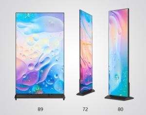 Wholesale mirror: P2.5 Indoor Portable Digital Poster Media LED Display , LED Mirror Poster